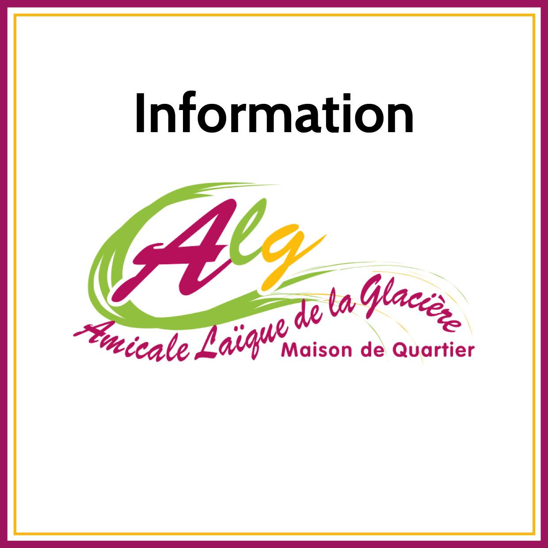 IMPORTANT : Covid-19 et arrêts des ateliers de l'ALG. 🗓
