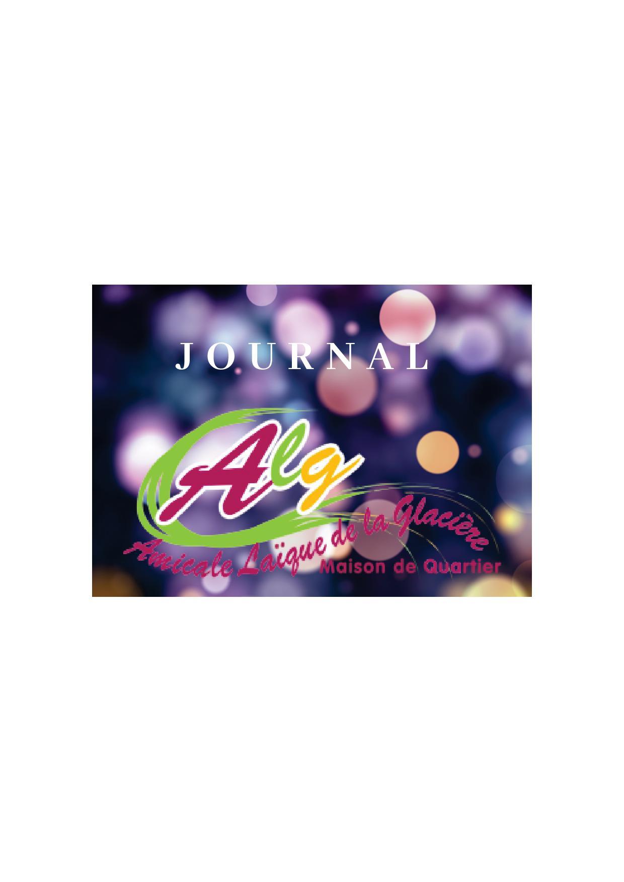 Journal de l'ALG 🗓