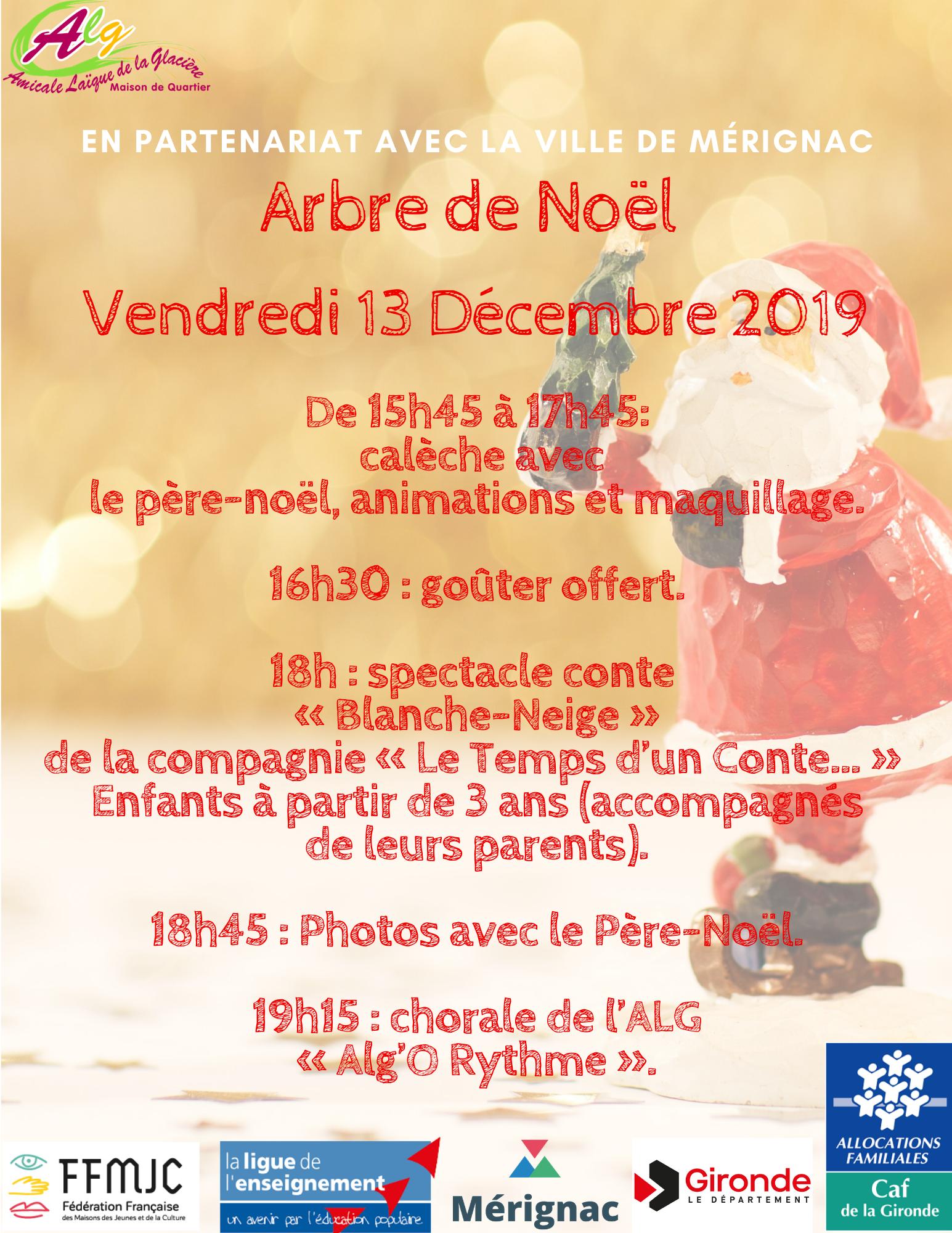 Arbre de Noël de l'ALG.