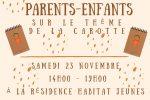 Atelier cuisine parents-enfant samedi 23 novembre 2019 🗓