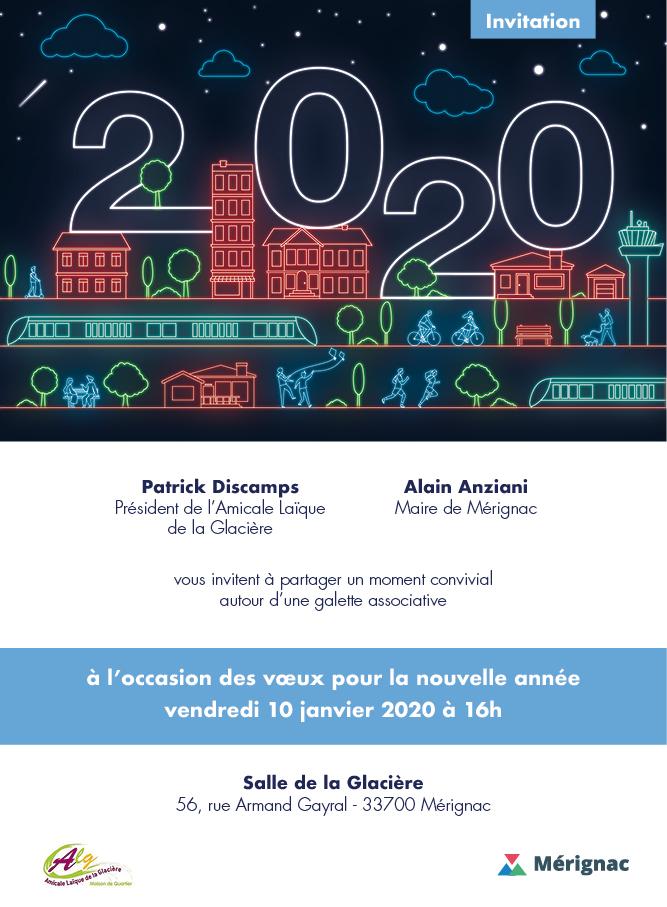 Vœux pour la nouvelle année 2020