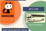 Sortie familles/adultes avec Marie et jeunes 11-17 ans avec Manu au festival de la BD à Angoulême le 1er Février 2020. Départ ALG 8h retour 23h. Sortie sur inscriptions. 🗓