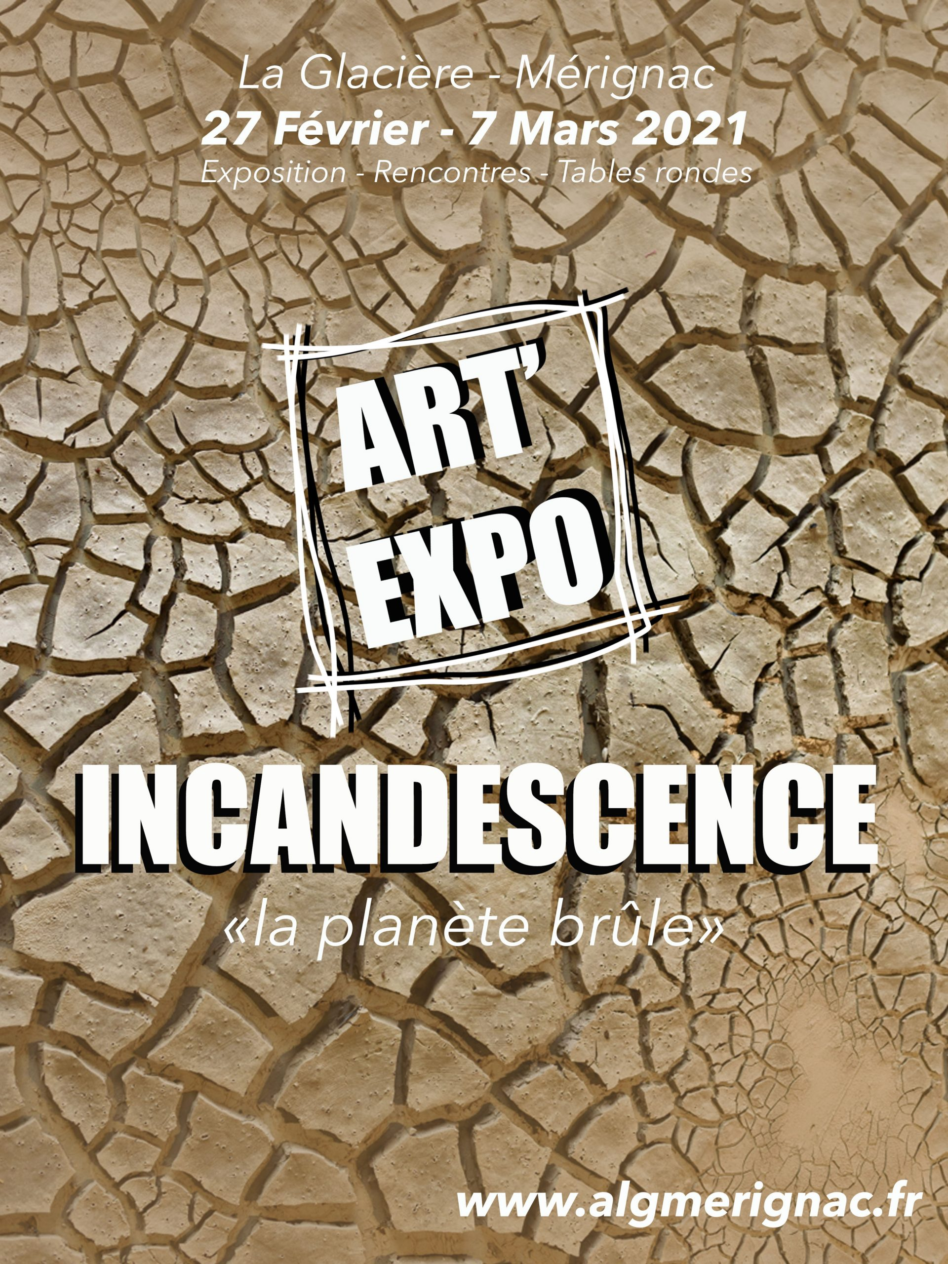 Art'Expo 2021 « Incandescence la planète brûle »