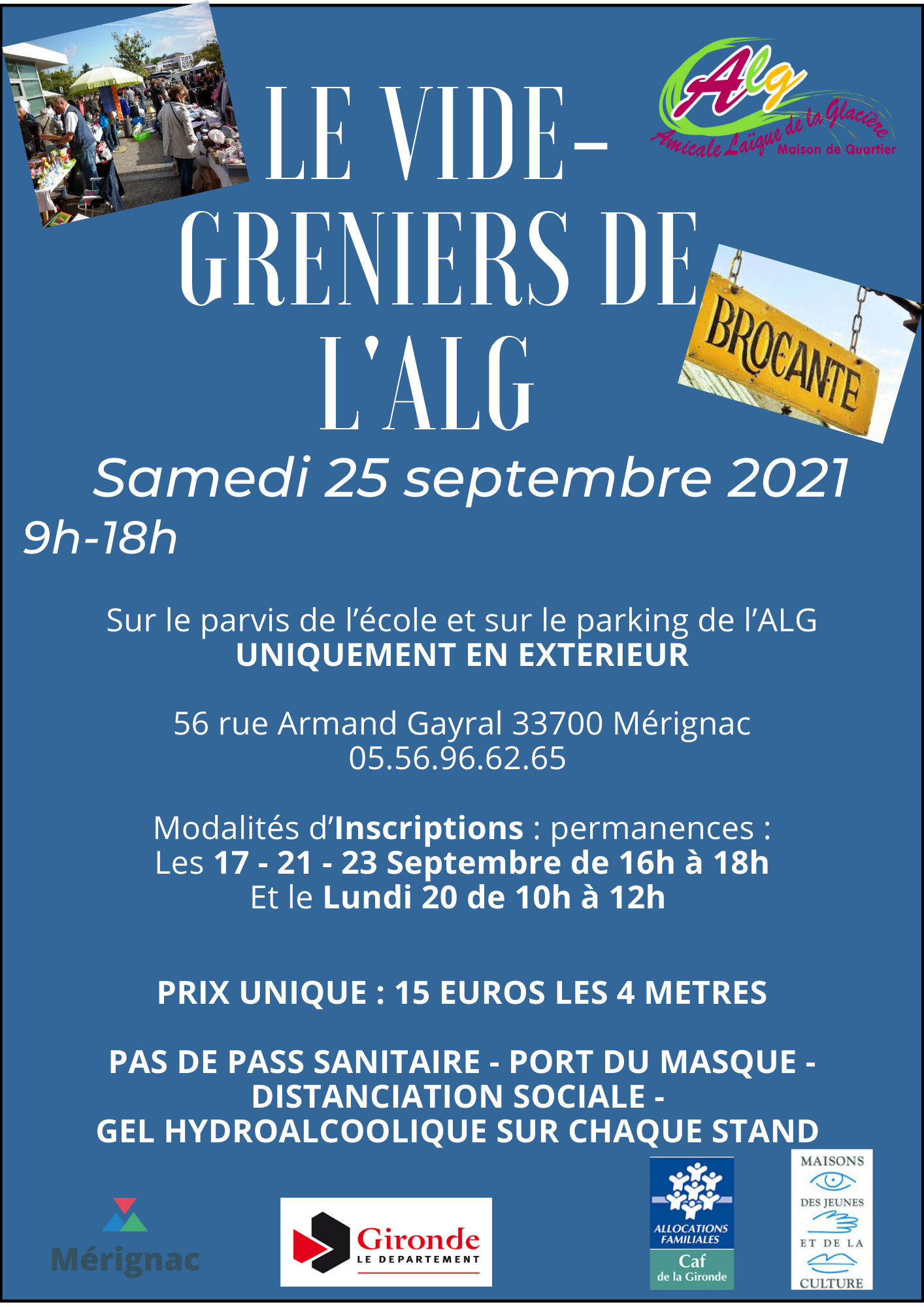 You are currently viewing !! URGENT !! NEWS CONCERNANT LE VIDE-GRENIER